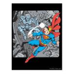El superhombre lucha Brainiac Tarjetas Postales