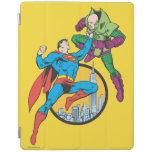 El superhombre lucha Lex Luthor Cover De iPad