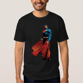 El superhombre parece delantero remeras