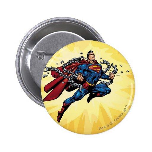 El superhombre rompe cadenas pin