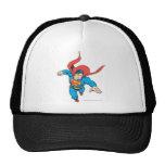 El superhombre salta adelante gorras de camionero