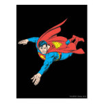 El superhombre se zambulle a la izquierda postales