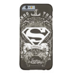 El superhombre Stylized el honor del  , la verdad Funda Barely There iPhone 6