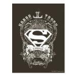 El superhombre Stylized el honor del  , la verdad Tarjeta Postal