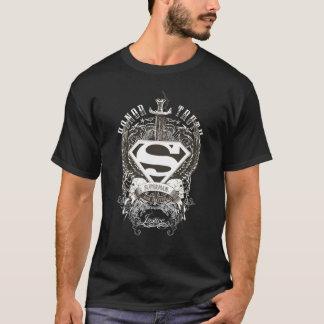 El superhombre Stylized el honor del |, verdad en Playera