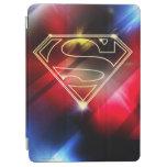 El superhombre Stylized el logotipo amarillo Cubierta De iPad Air