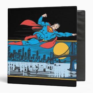 """El superhombre vuela a través de ciudad carpeta 1 1/2"""""""