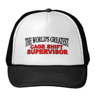 El supervisor de cambio más grande de la jaula del gorras de camionero