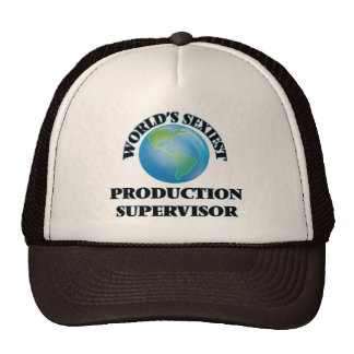 El supervisor más atractivo de la producción del gorros bordados