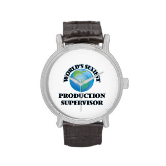 El supervisor más atractivo de la producción del reloj
