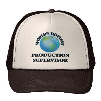 El supervisor más caliente de la producción del gorra