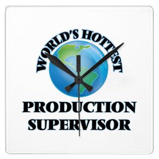 El supervisor más caliente de la producción del relojes