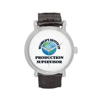 El supervisor más caliente de la producción del relojes de mano