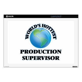 El supervisor más caliente de la producción del portátil 43,2cm skin