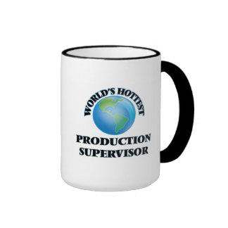 El supervisor más caliente de la producción del taza