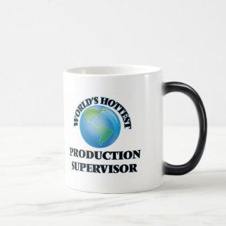 El supervisor más caliente de la producción del taza de café