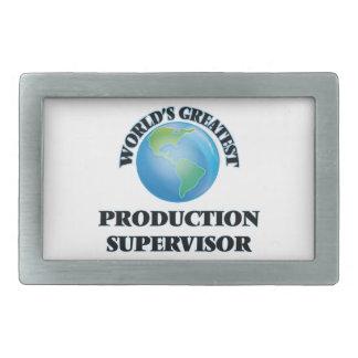 El supervisor más grande de la producción del hebillas de cinturón rectangulares