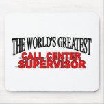 El supervisor más grande del centro de atención te tapetes de ratón