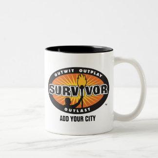 El superviviente añade su ciudad tazas