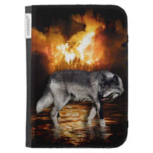 El superviviente de las llamas del fuego del lobo