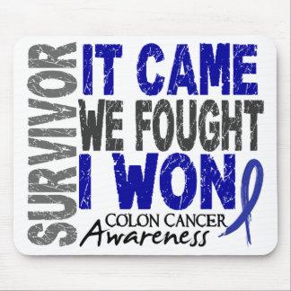 El superviviente del cáncer de colon que vino noso tapetes de ratón