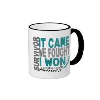 El superviviente del cáncer de cuello del útero qu tazas de café