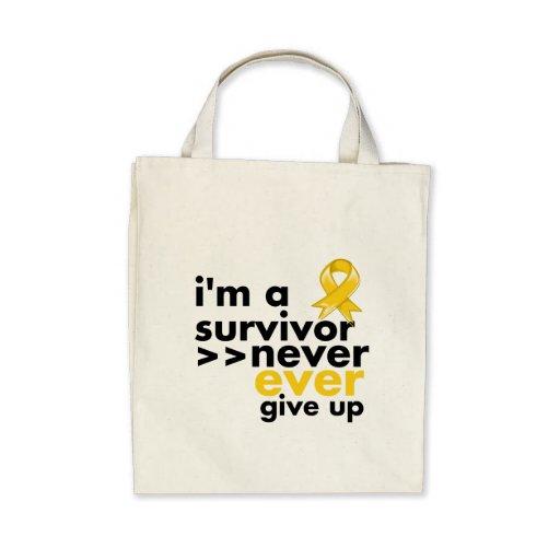 El superviviente del cáncer de la niñez nunca da p bolsas