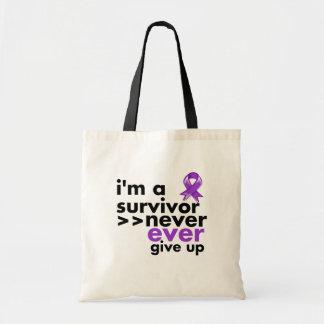 El superviviente del cáncer de Leiomyosarcoma nunc Bolsa De Mano