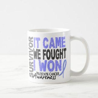El superviviente del cáncer de próstata que vino taza de café