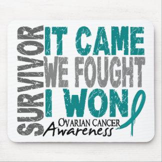 El superviviente del cáncer ovárico que vino nosot tapete de ratones