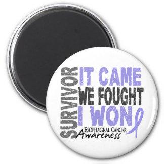 El superviviente del esófago del cáncer que vino n iman