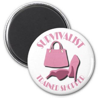 El Survivalist entrenó al comprador (en rosa) Imanes