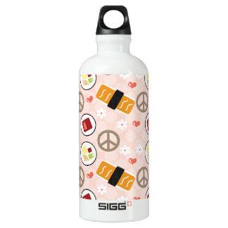 El sushi BPA del amor de la paz libera