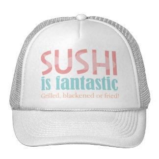 ¡El sushi es fantástico! Gorra