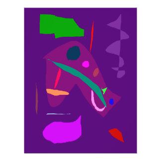 El susurro de la noche del relámpago deja la cola flyer personalizado