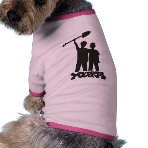 EL SUYO camiseta del perro del LOGOTIPO Camisetas Mascota
