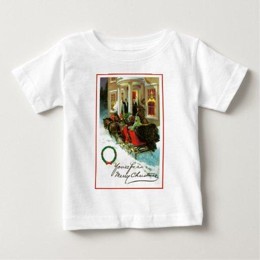 El suyo para Felices Navidad T Shirts