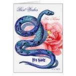 El suyo su rosa de la serpiente personaliza la tar