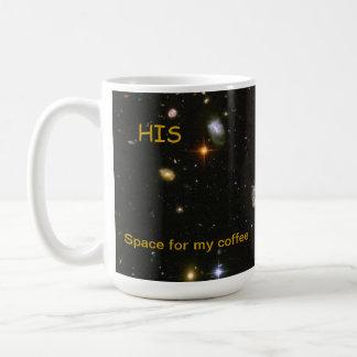 El suyo - taza de café del espacio