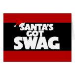 El SWAG conseguido de Santa Felicitación
