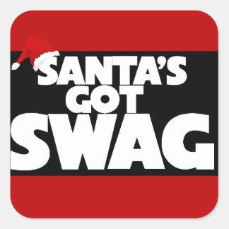El SWAG conseguido de Santa Pegatinas