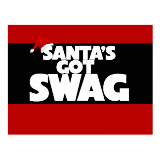 El SWAG conseguido de Santa Tarjeta Postal