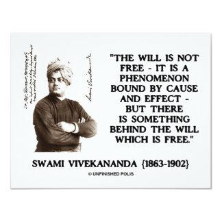 """El Swami que Vivekananda no es efecto libre de la Invitación 4.25"""" X 5.5"""""""