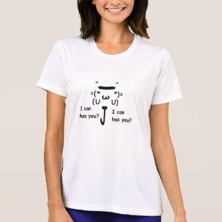 El T de las mujeres del gato de Lol del Internet Camisetas