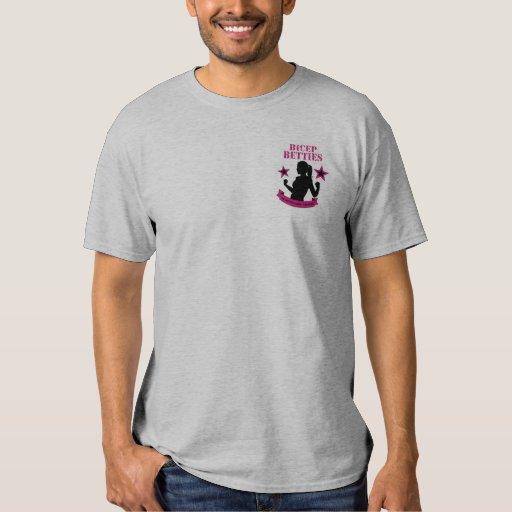 El T de los hombres de Betties del bíceps - Camisas