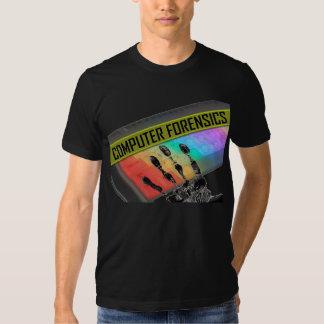El T de los hombres de la medecina legal de Camisas
