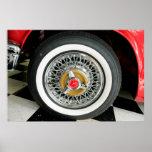 el T-Pájaro de los años 50 habló la rueda Impresiones