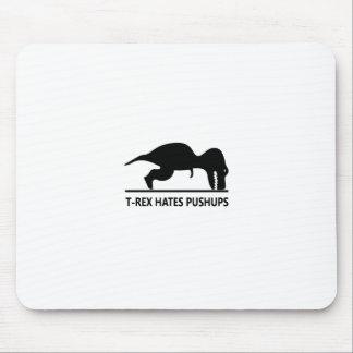 el t-rex odia pushups.ai tapetes de ratones