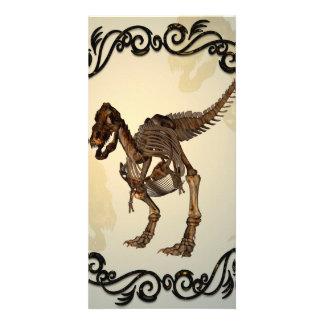 El T-rex Plantilla Para Tarjeta De Foto