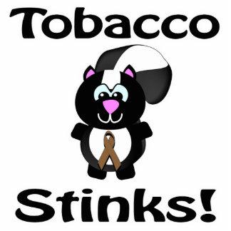El tabaco apesta diseño de la conciencia de la mof escultura fotografica
